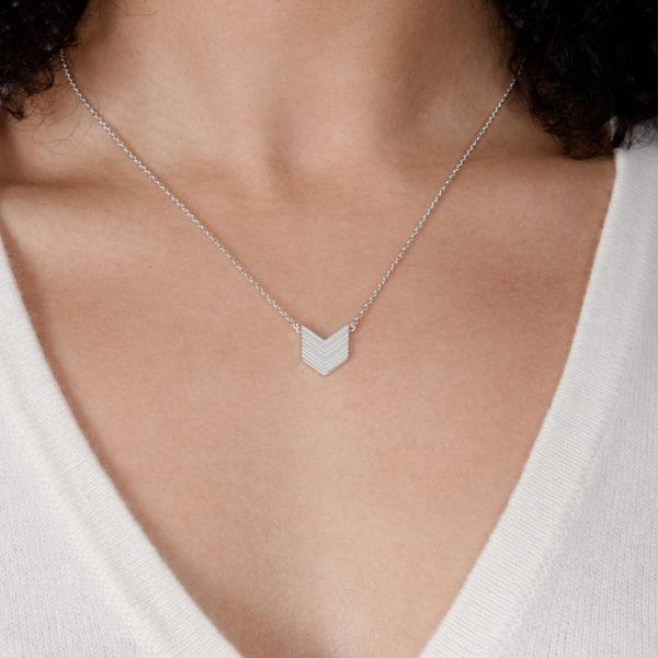 Art Deco Arrow Pendant