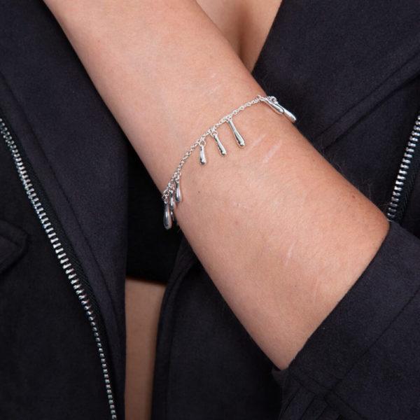Drop Cluster Bracelet