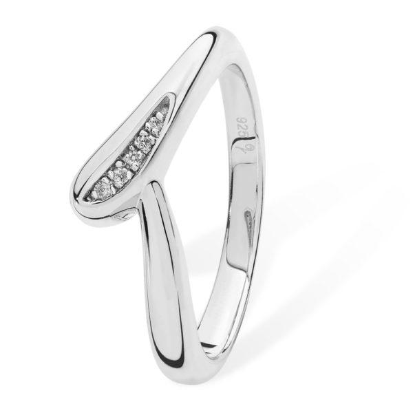 Diamond Drop Ring