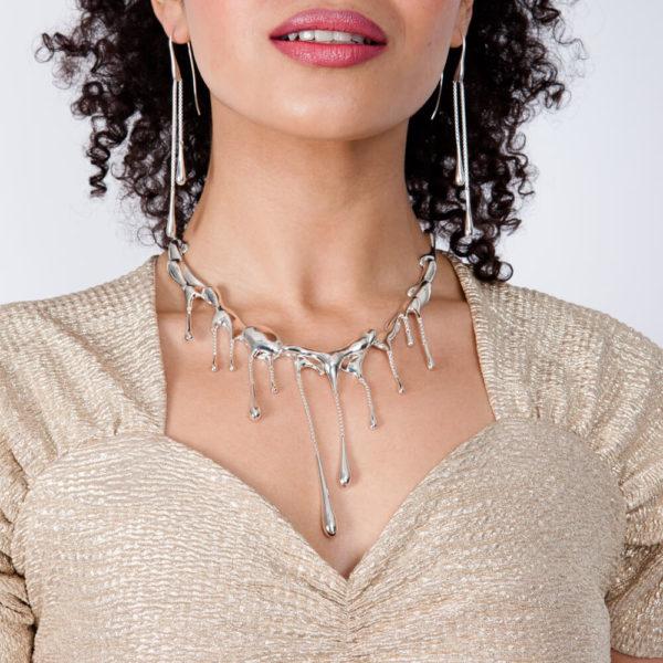 Multi Drop Necklace