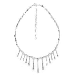 Short Multi-Drop Necklace