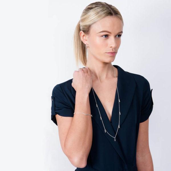 7 Drop necklace