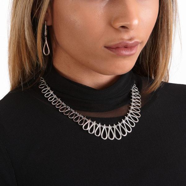 Large Petal Necklace