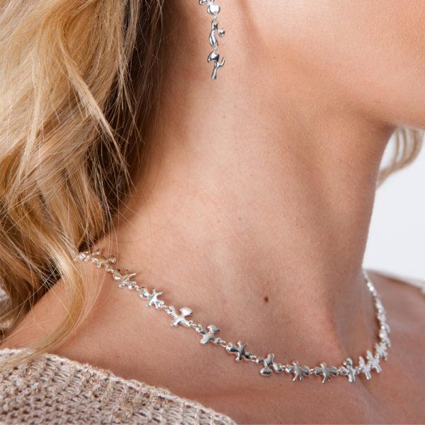 Fine Splash Necklace