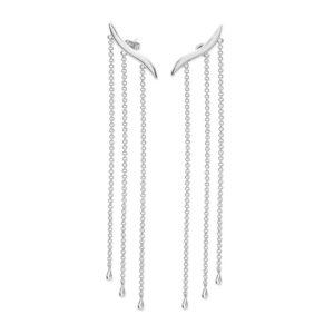 Long Waterfall Earrings