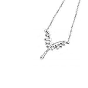 Mini V Style Wave Necklace