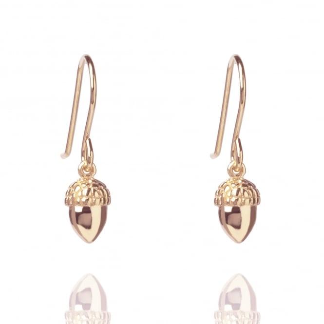 Muru Acorn Earrings Rose Gold Plated
