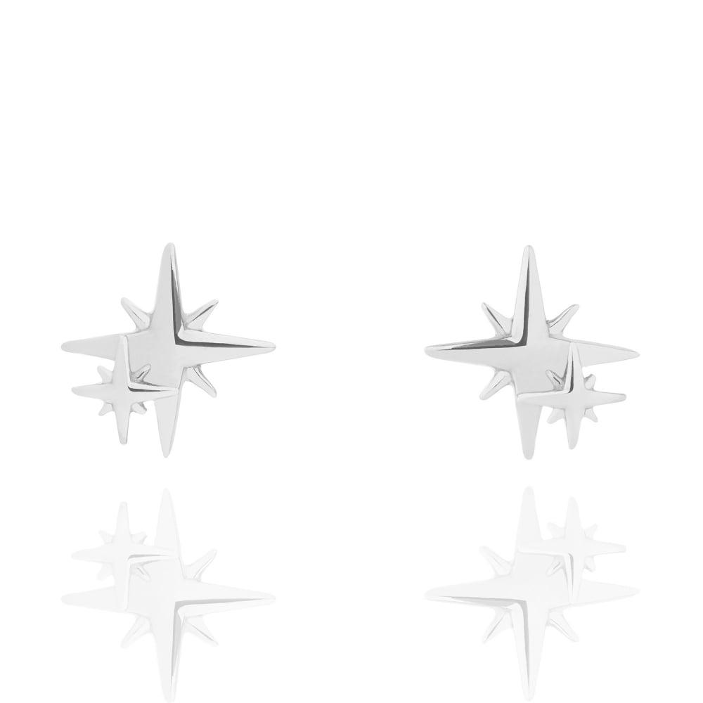 Muru My Little Star Stud Earrings Silver