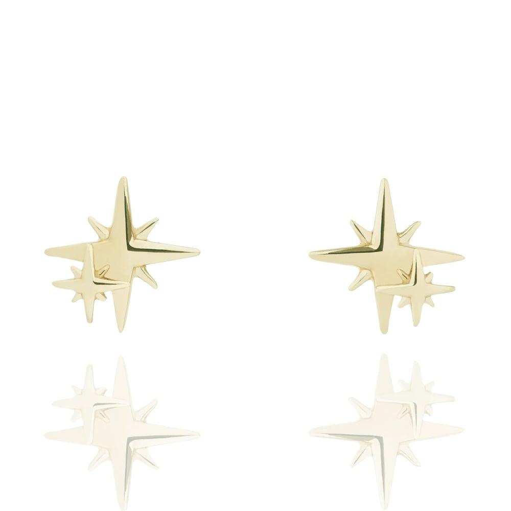 Muru My Little Star Stud Earrings Gold Plated