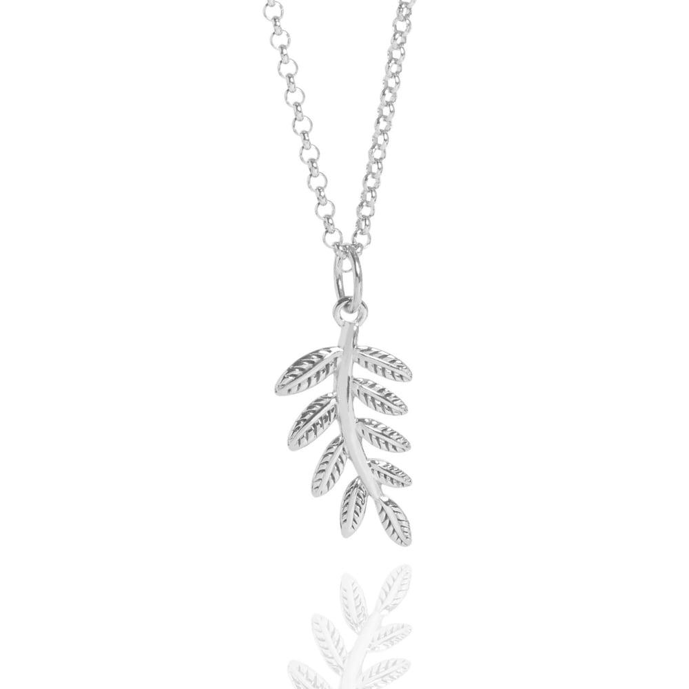 Muru Fern Necklace Silver