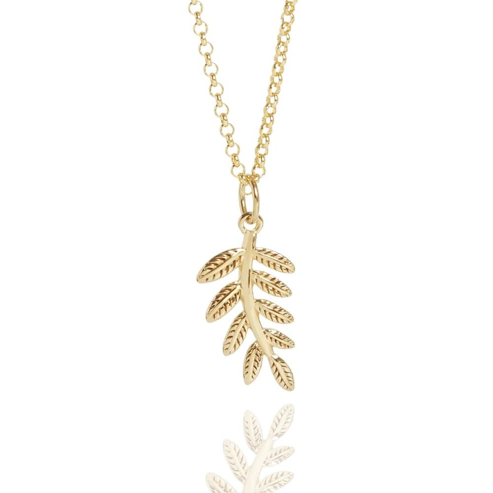 Muru Fern Necklace Gold Plated