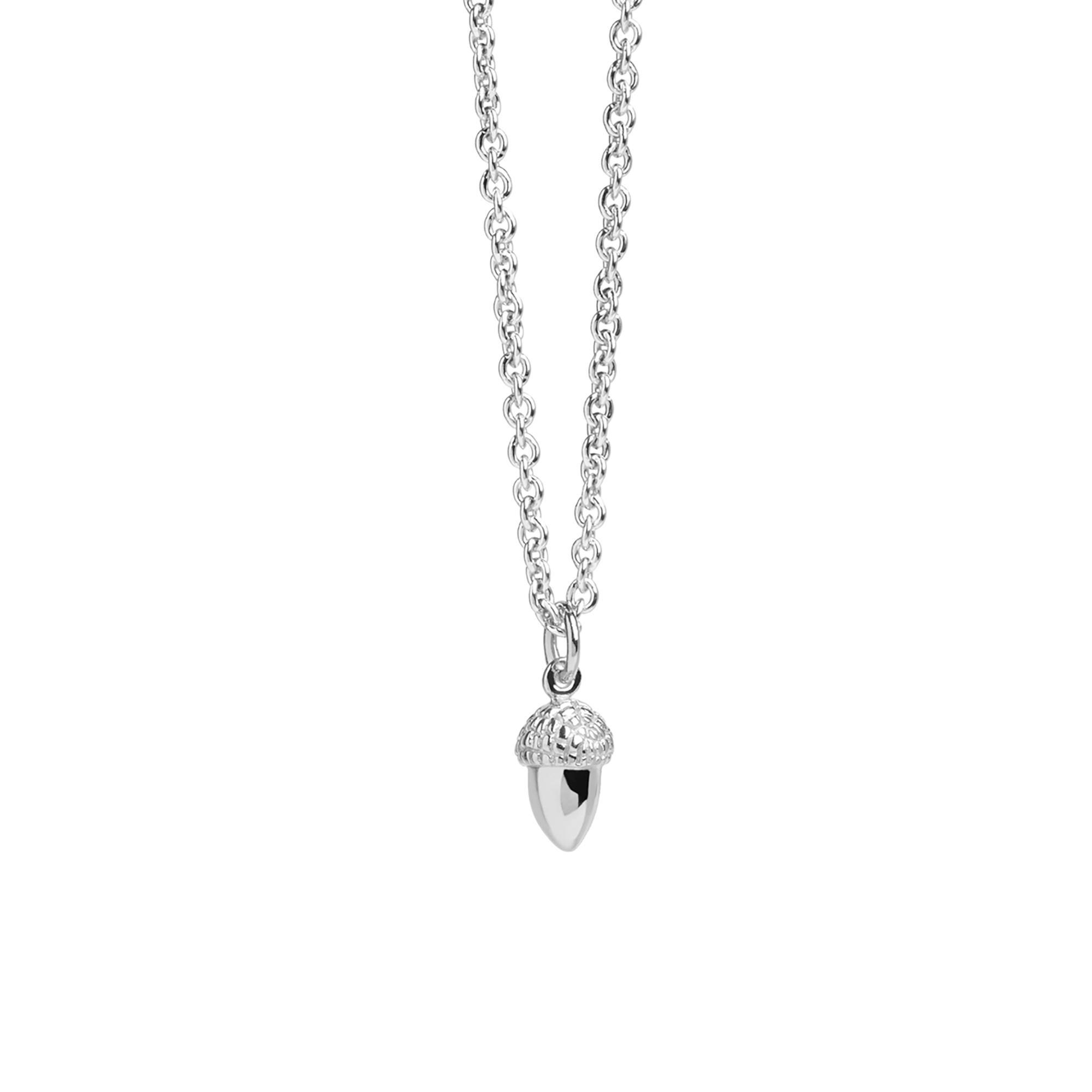 Muru Tiny Acorn Necklace Silver