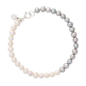 Ombre Button Pearl Bracelet