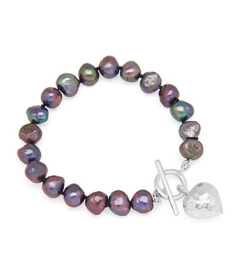 Bella Peacock Pearl Bracelet