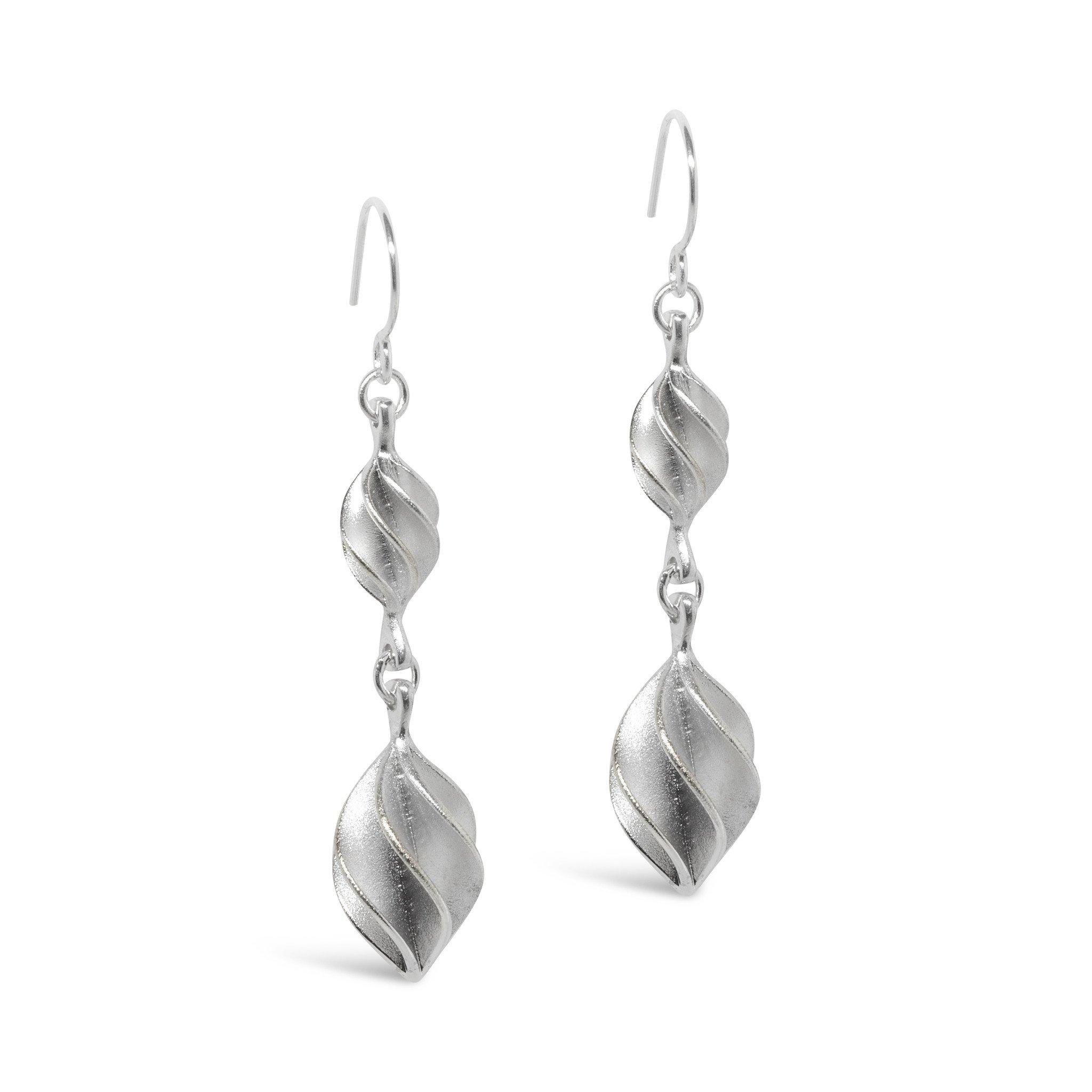 Verso Double Drop Earrings