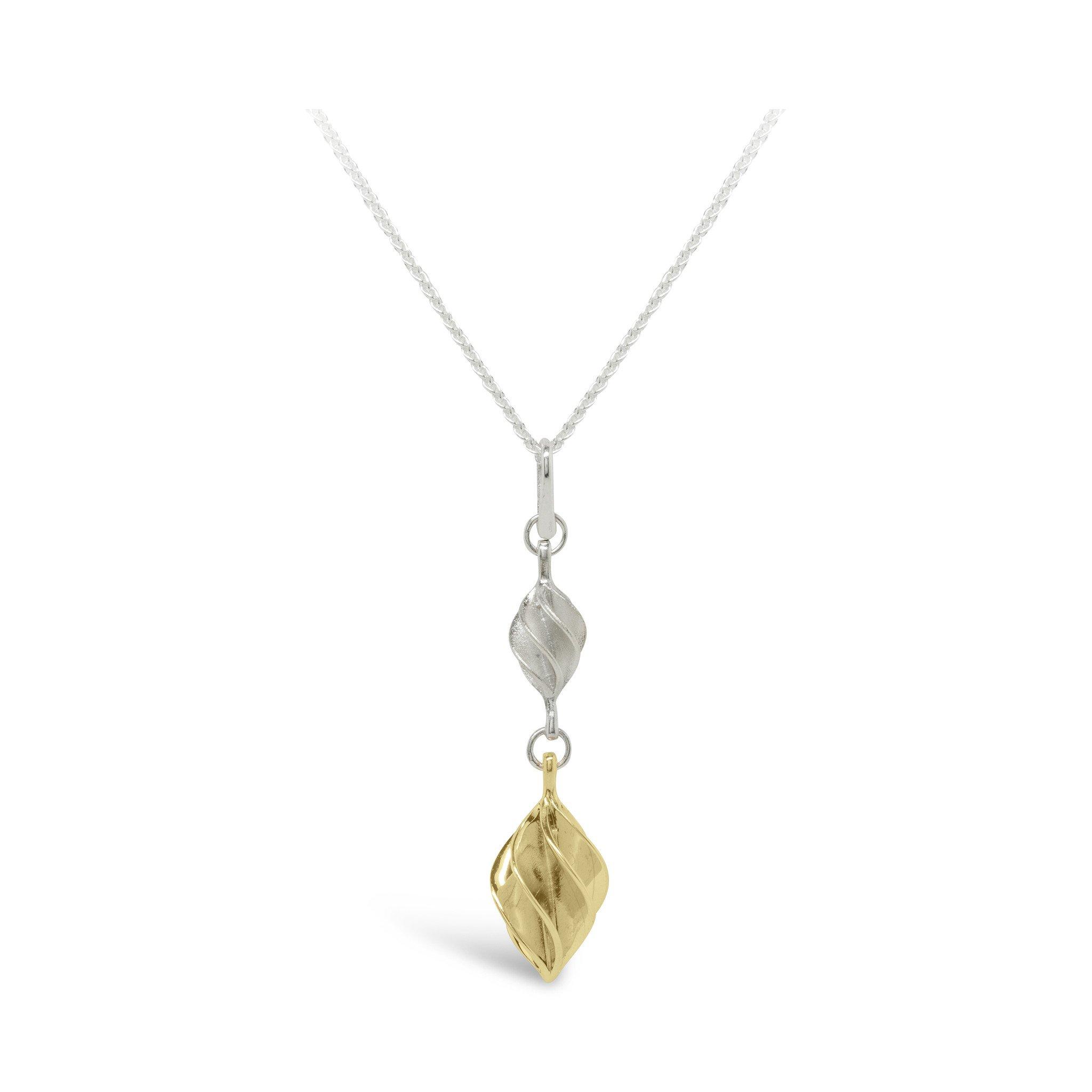 Verso Gold Medium & Small Pendant