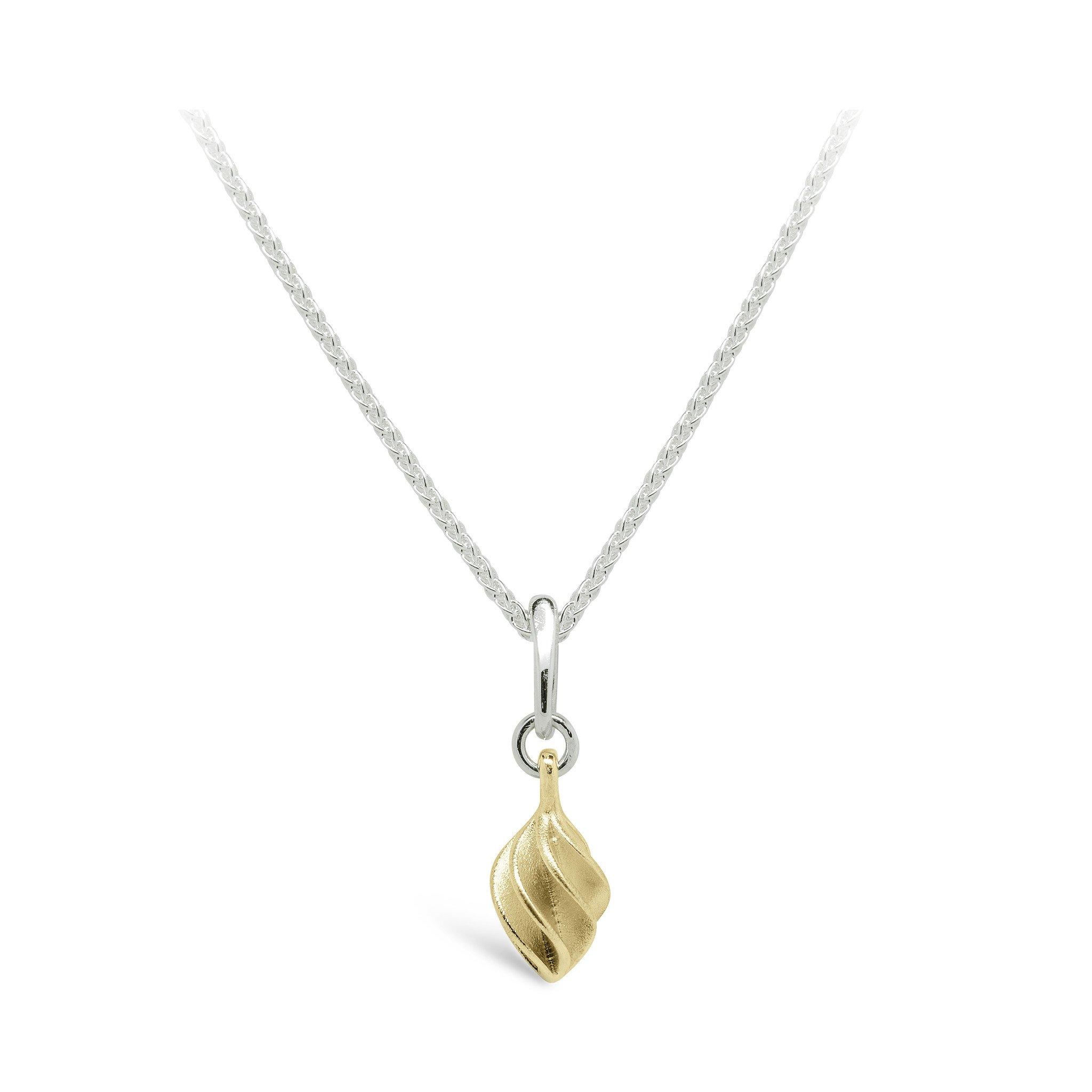 Verso Gold Small Single Pendant