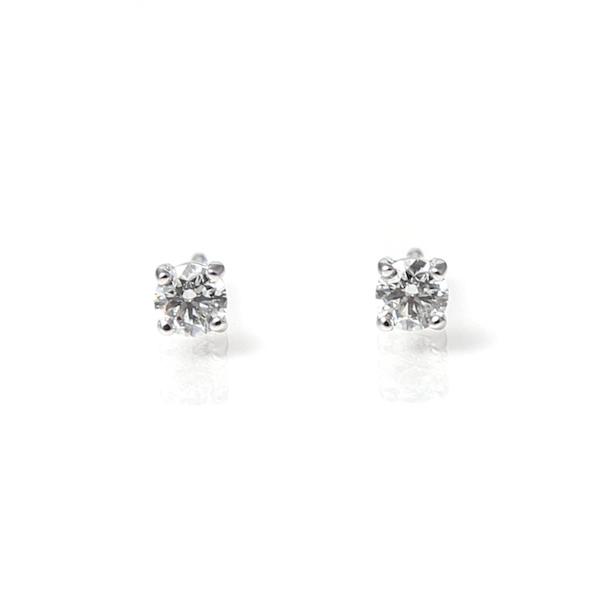 18ct White Gold 0.94ct Diamond Stud Earrings