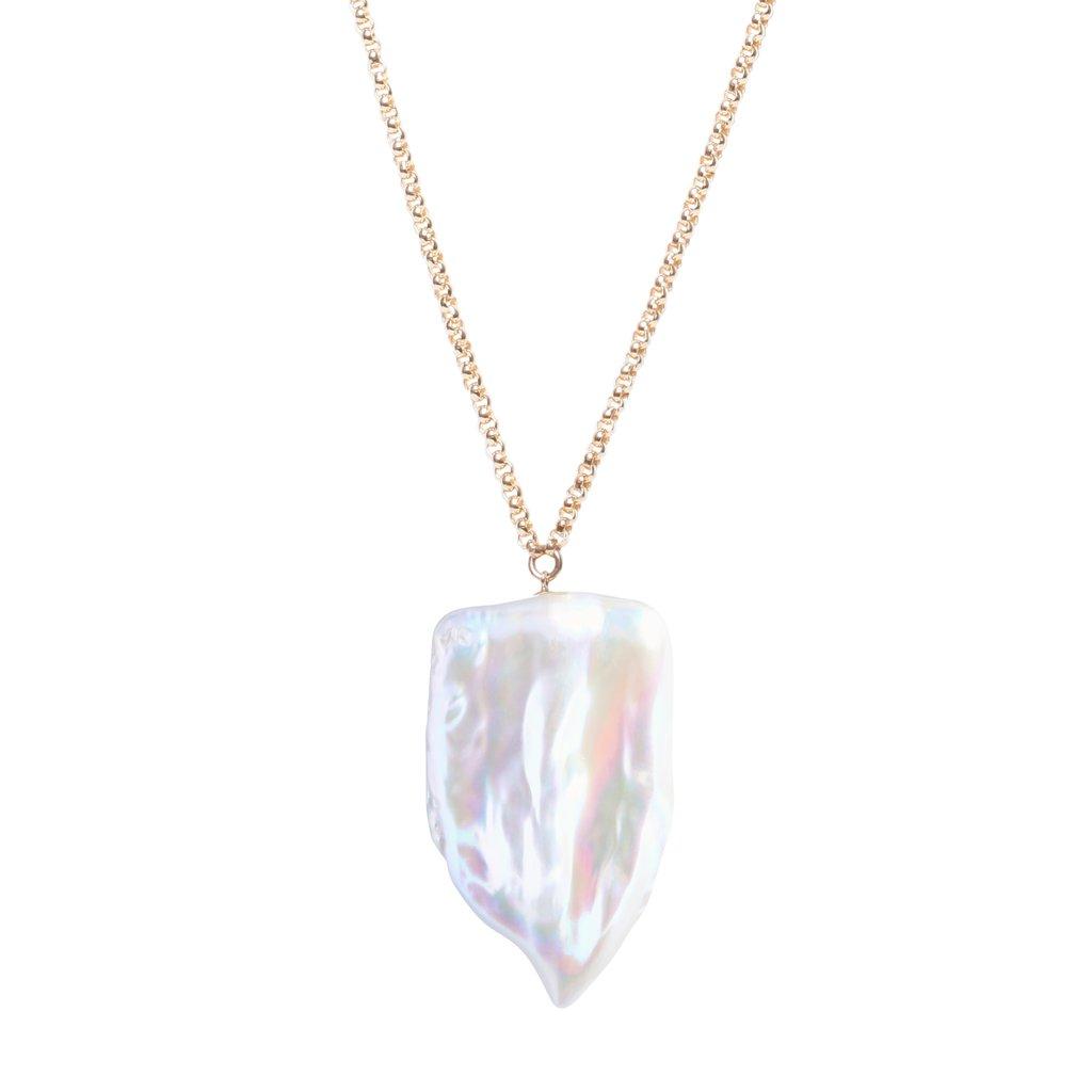 XXL Sabre Pearl Pendant
